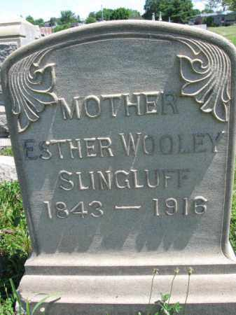 SLINGHUFF, ESTHER - Montgomery County, Pennsylvania | ESTHER SLINGHUFF - Pennsylvania Gravestone Photos