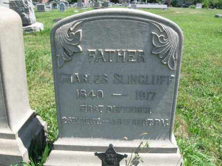 SLINGLUFF (CW), CHARLES - Montgomery County, Pennsylvania | CHARLES SLINGLUFF (CW) - Pennsylvania Gravestone Photos