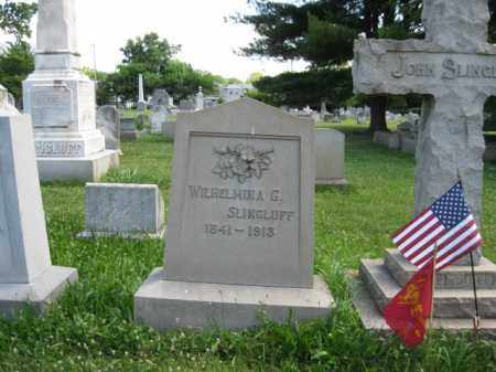 SLINGLUFF, WILHELMINA G. - Montgomery County, Pennsylvania   WILHELMINA G. SLINGLUFF - Pennsylvania Gravestone Photos