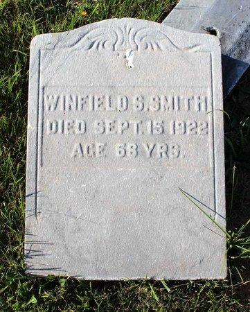 SMITH, WINFIELD S. - Montgomery County, Pennsylvania | WINFIELD S. SMITH - Pennsylvania Gravestone Photos