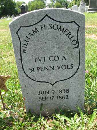SOMERLOT (CW), WILLIAM H. - Montgomery County, Pennsylvania | WILLIAM H. SOMERLOT (CW) - Pennsylvania Gravestone Photos