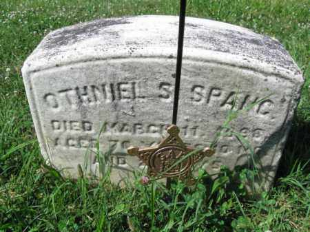 SPANG (CW), OTHNIEL S. - Montgomery County, Pennsylvania | OTHNIEL S. SPANG (CW) - Pennsylvania Gravestone Photos