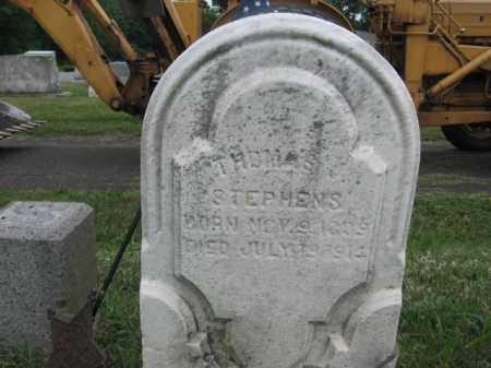 STEPHENS, THOMAS J. - Montgomery County, Pennsylvania | THOMAS J. STEPHENS - Pennsylvania Gravestone Photos