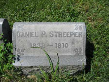 STREEPER, DANIEL P. - Montgomery County, Pennsylvania   DANIEL P. STREEPER - Pennsylvania Gravestone Photos