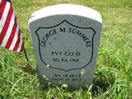 SUMMERS (CW), GEORGE M. - Montgomery County, Pennsylvania | GEORGE M. SUMMERS (CW) - Pennsylvania Gravestone Photos
