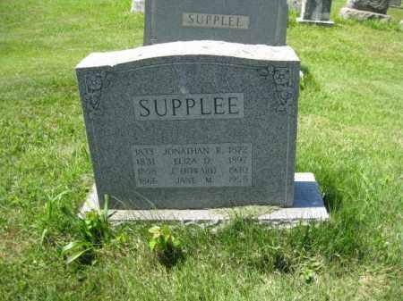 SUPPLEE (CW), JONATHAN R. - Montgomery County, Pennsylvania | JONATHAN R. SUPPLEE (CW) - Pennsylvania Gravestone Photos