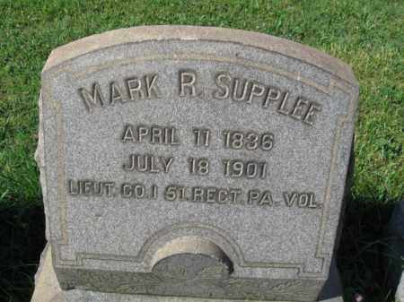 SUPPLEE (CW), MARK R. - Montgomery County, Pennsylvania | MARK R. SUPPLEE (CW) - Pennsylvania Gravestone Photos