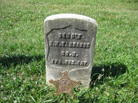 TARRANCE (CW), DAVID W. - Montgomery County, Pennsylvania | DAVID W. TARRANCE (CW) - Pennsylvania Gravestone Photos