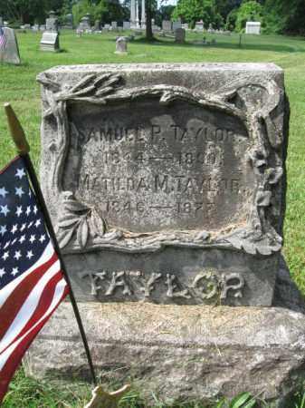 TAYLOR, SAMUEL P. - Montgomery County, Pennsylvania | SAMUEL P. TAYLOR - Pennsylvania Gravestone Photos