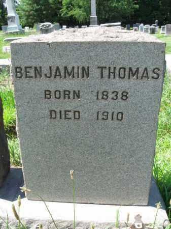THOMAS, BENJAMIN - Montgomery County, Pennsylvania | BENJAMIN THOMAS - Pennsylvania Gravestone Photos