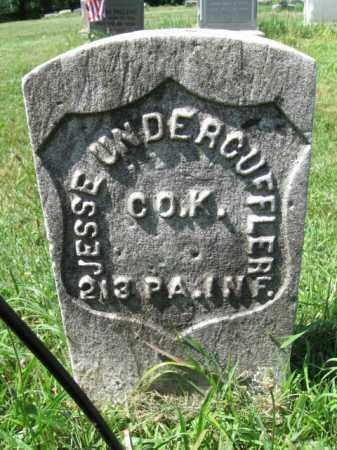 UNDERCUFFLER (CW), JESSE - Montgomery County, Pennsylvania | JESSE UNDERCUFFLER (CW) - Pennsylvania Gravestone Photos