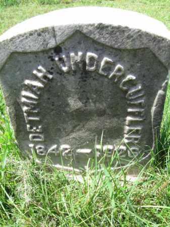 UNDERCUFFLER, DETMIAH - Montgomery County, Pennsylvania | DETMIAH UNDERCUFFLER - Pennsylvania Gravestone Photos