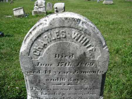 WHITE, CHARLES - Montgomery County, Pennsylvania   CHARLES WHITE - Pennsylvania Gravestone Photos
