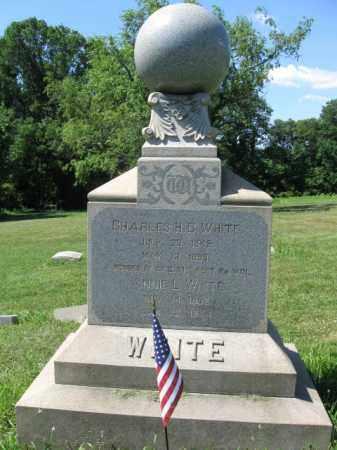 WHITE (CW), CHARLES H.C. - Montgomery County, Pennsylvania | CHARLES H.C. WHITE (CW) - Pennsylvania Gravestone Photos