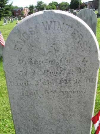 WINTERS (CW), ENOS - Montgomery County, Pennsylvania | ENOS WINTERS (CW) - Pennsylvania Gravestone Photos