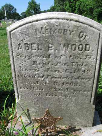 WOOD (CW), ABEL B. - Montgomery County, Pennsylvania | ABEL B. WOOD (CW) - Pennsylvania Gravestone Photos