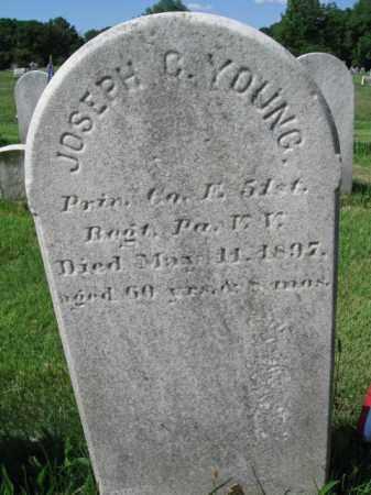 YOUNG (CW), JOSEPH C. - Montgomery County, Pennsylvania | JOSEPH C. YOUNG (CW) - Pennsylvania Gravestone Photos