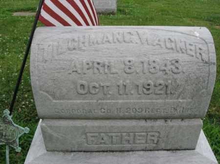 WAGNER, TILCHMAN   G. - Northampton County, Pennsylvania   TILCHMAN   G. WAGNER - Pennsylvania Gravestone Photos