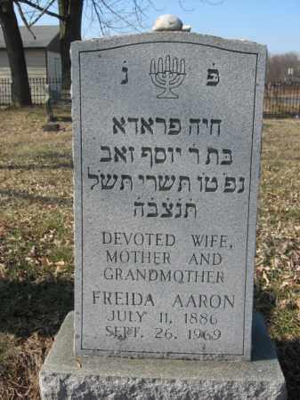 AAROB, FRIEDA - Northampton County, Pennsylvania   FRIEDA AAROB - Pennsylvania Gravestone Photos