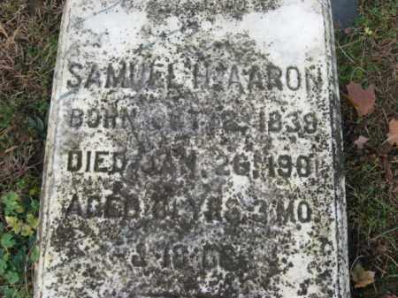AARON, SAMUELH. - Northampton County, Pennsylvania   SAMUELH. AARON - Pennsylvania Gravestone Photos