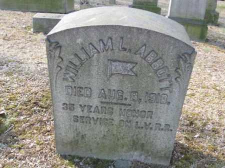 ABBOTT, WILLIAM L. - Northampton County, Pennsylvania   WILLIAM L. ABBOTT - Pennsylvania Gravestone Photos