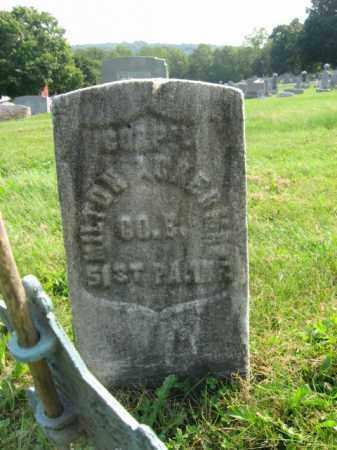 ACKERMAN, CORP.MILTON - Northampton County, Pennsylvania | CORP.MILTON ACKERMAN - Pennsylvania Gravestone Photos