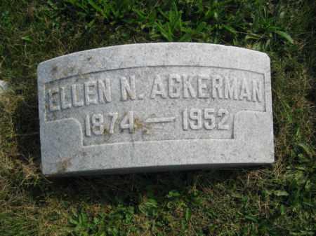 ACKERMAN, ELLEN N. - Northampton County, Pennsylvania | ELLEN N. ACKERMAN - Pennsylvania Gravestone Photos