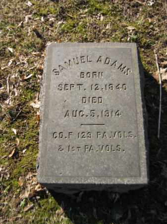ADAMS (CW), SAMUEL - Northampton County, Pennsylvania | SAMUEL ADAMS (CW) - Pennsylvania Gravestone Photos