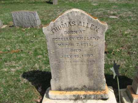 ALLEN, THOMAS - Northampton County, Pennsylvania | THOMAS ALLEN - Pennsylvania Gravestone Photos