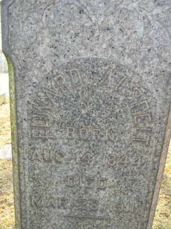 ALSFELT (CW), EDWARD - Northampton County, Pennsylvania   EDWARD ALSFELT (CW) - Pennsylvania Gravestone Photos