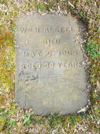 ALSFELT, WILLIAM H. - Northampton County, Pennsylvania | WILLIAM H. ALSFELT - Pennsylvania Gravestone Photos