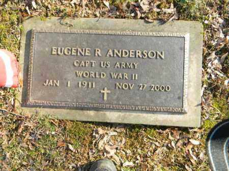 ANDERSON (WW II), EUGENE R. - Northampton County, Pennsylvania | EUGENE R. ANDERSON (WW II) - Pennsylvania Gravestone Photos