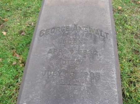 ANEWALT (CW), GEORGE - Northampton County, Pennsylvania   GEORGE ANEWALT (CW) - Pennsylvania Gravestone Photos