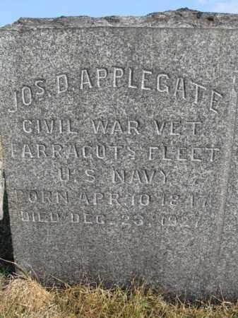 APPLEGATE  (CW), JOSEPH D. - Northampton County, Pennsylvania | JOSEPH D. APPLEGATE  (CW) - Pennsylvania Gravestone Photos