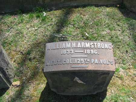 ARMSTRONG, WILLIAM H. - Northampton County, Pennsylvania | WILLIAM H. ARMSTRONG - Pennsylvania Gravestone Photos