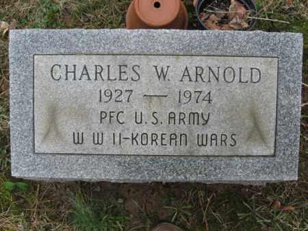 ARNOLD, CHARLES W. - Northampton County, Pennsylvania | CHARLES W. ARNOLD - Pennsylvania Gravestone Photos