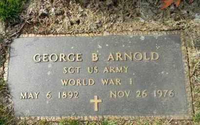 ARNOLD (WW I), GEORGE B. - Northampton County, Pennsylvania | GEORGE B. ARNOLD (WW I) - Pennsylvania Gravestone Photos
