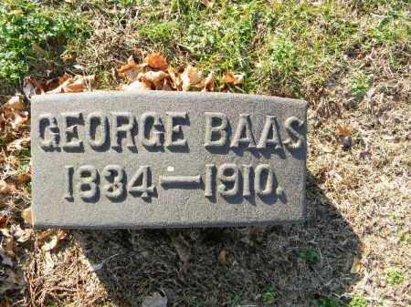 BAAS, GEORGE - Northampton County, Pennsylvania | GEORGE BAAS - Pennsylvania Gravestone Photos
