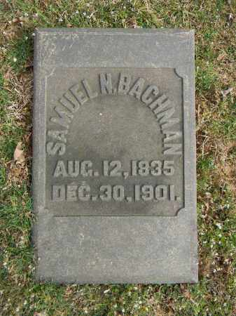 BACHMAN, SAMUEL N. - Northampton County, Pennsylvania   SAMUEL N. BACHMAN - Pennsylvania Gravestone Photos
