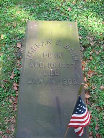 BAHN (CW), MORGAN L. - Northampton County, Pennsylvania   MORGAN L. BAHN (CW) - Pennsylvania Gravestone Photos