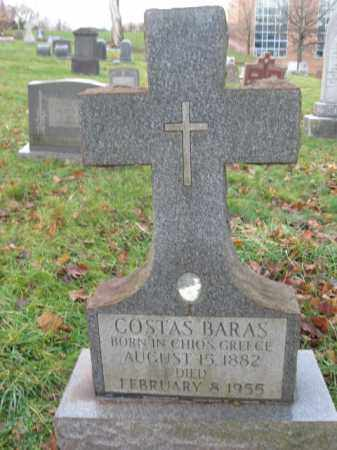 BARAS, COSTAS - Northampton County, Pennsylvania | COSTAS BARAS - Pennsylvania Gravestone Photos