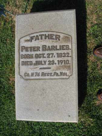 BARLIEB, PETER - Northampton County, Pennsylvania | PETER BARLIEB - Pennsylvania Gravestone Photos