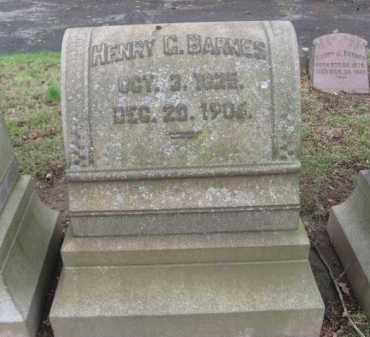 BARNES (BARNDT)(CW), HENRY G. - Northampton County, Pennsylvania | HENRY G. BARNES (BARNDT)(CW) - Pennsylvania Gravestone Photos