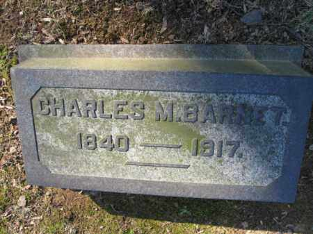BARNET (CW), CHARLES M. - Northampton County, Pennsylvania   CHARLES M. BARNET (CW) - Pennsylvania Gravestone Photos