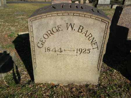 BARNET (CW), GEORGE W. - Northampton County, Pennsylvania | GEORGE W. BARNET (CW) - Pennsylvania Gravestone Photos