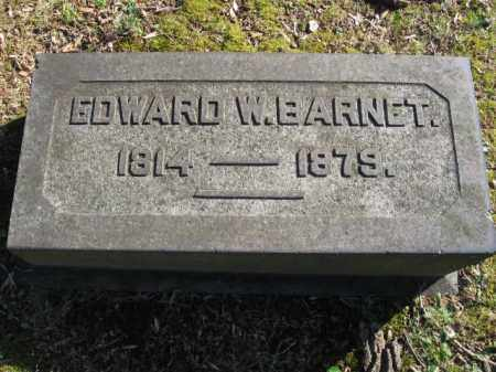 BARNET, EDWARD W. - Northampton County, Pennsylvania | EDWARD W. BARNET - Pennsylvania Gravestone Photos