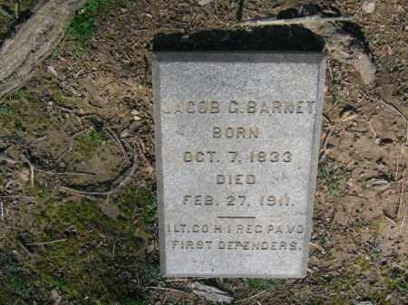 BARNET (CW), JACOB C. - Northampton County, Pennsylvania | JACOB C. BARNET (CW) - Pennsylvania Gravestone Photos