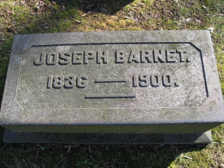 BARNET, JOSEPH - Northampton County, Pennsylvania | JOSEPH BARNET - Pennsylvania Gravestone Photos