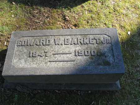BARNET,JR., EDWARD W. - Northampton County, Pennsylvania | EDWARD W. BARNET,JR. - Pennsylvania Gravestone Photos