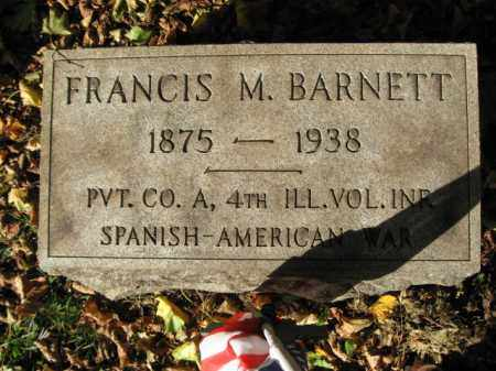 BARNETT (SAW), FRANCIS M. - Northampton County, Pennsylvania | FRANCIS M. BARNETT (SAW) - Pennsylvania Gravestone Photos